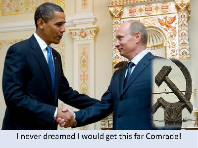 Obama accepts congratulations from President Putin