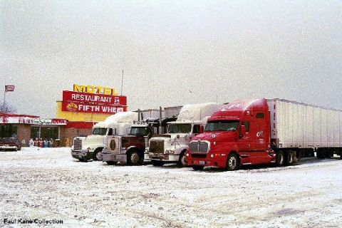A winter storm or a hurricane can bring trucks to a halt.